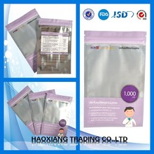 Plastic bedding vacuum seal storage bag for mattress cover bag with zipper