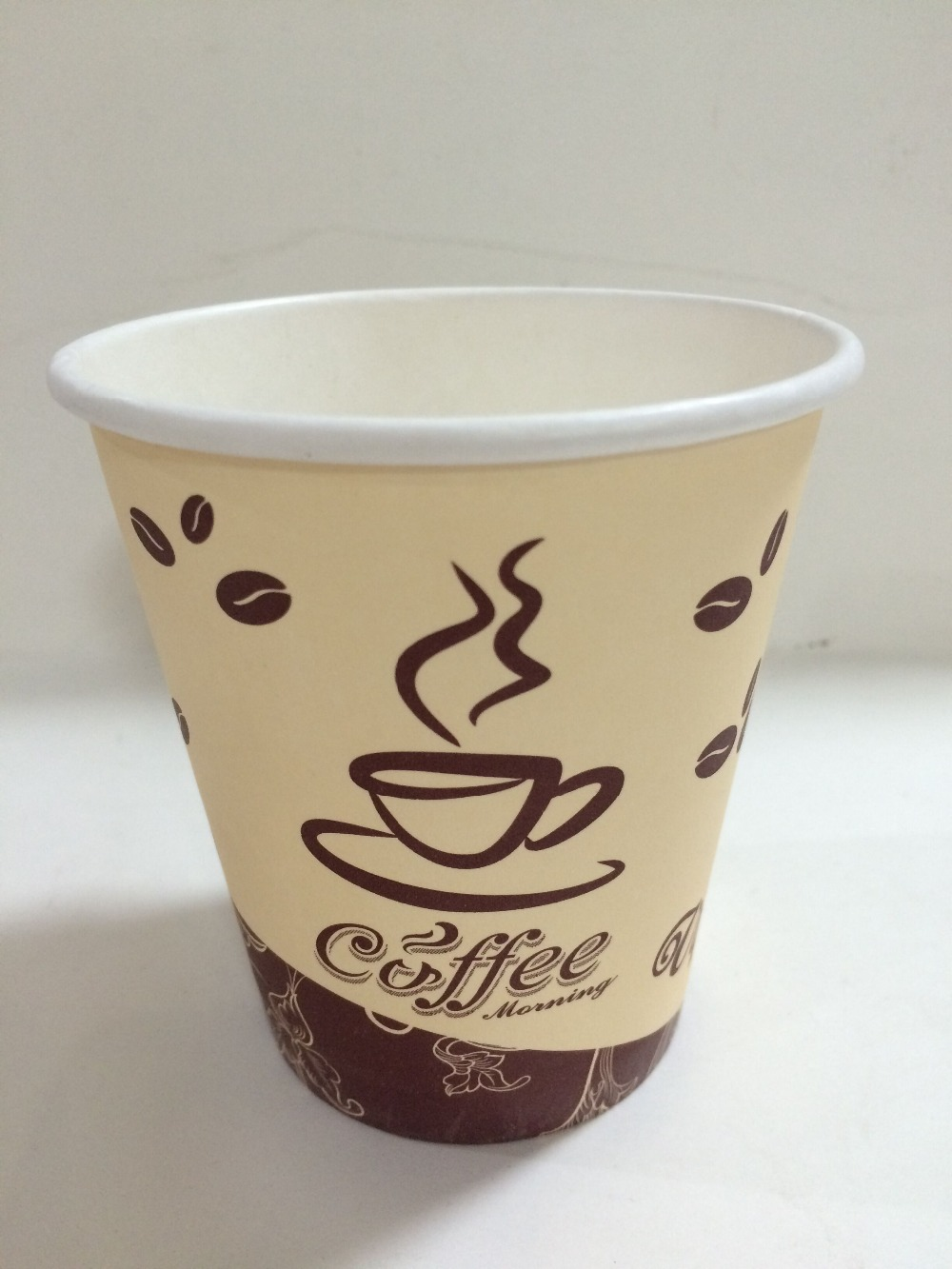 disposable paper Cup single PE for hot coffee supplier manufacturers
