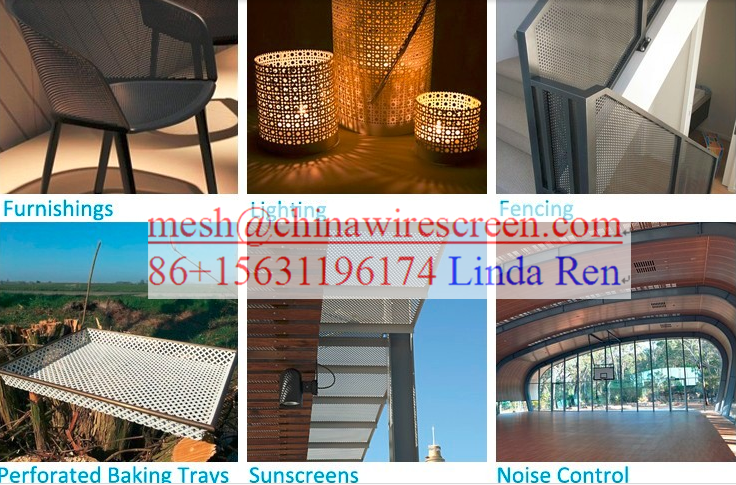Perforated Metal Mesh/ Punching Hole Mesh/Performated Metal Sheet