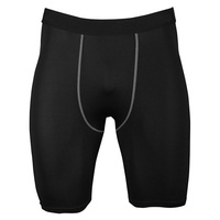 LANBAOSI Wholesale Breathable Under Base Layer Gym Fitness Training Men Compression Shorts Tights