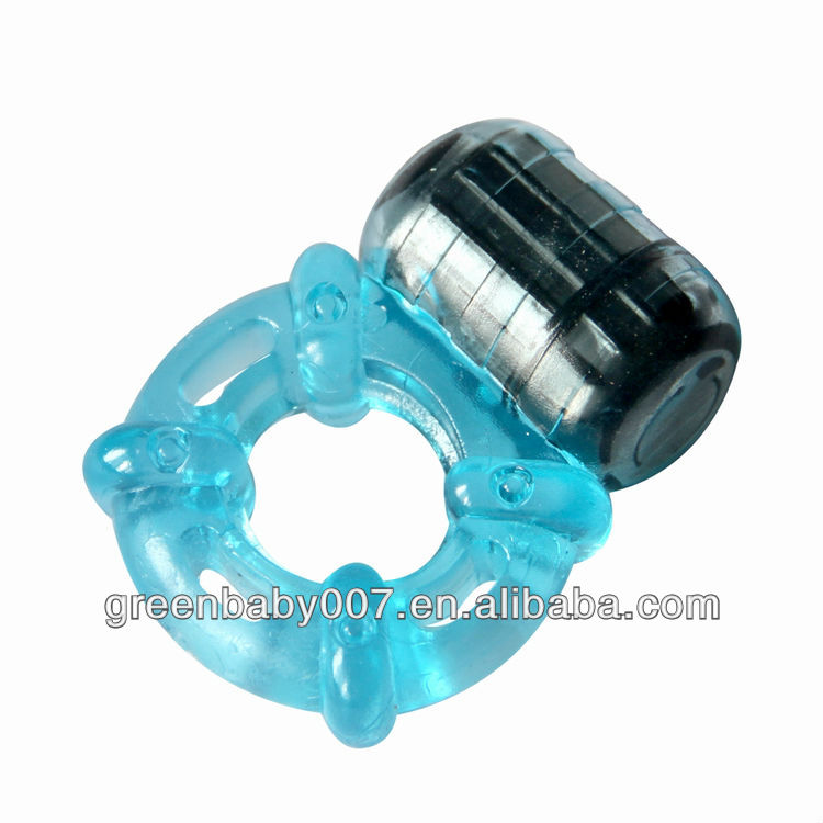 RC011F/ powerful 5speeds reachargeable battery male sex toy of reusable cock ring sex wholesale