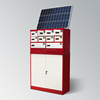 Mobile Phone Vending Machine Solar Cell Phone Charger Station with Storage Cabinet