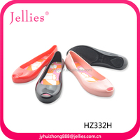 fashion new design crystal injection pvc shoes for women pvc fascinating footwear jelly pvc sandals