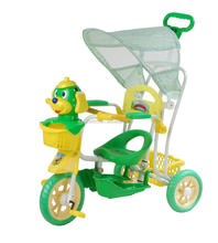 New model plastic baby smart trike tricycle with dog on the high-grade children tricycle kids bike