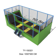 Top Sale Outdoor Trampoline Park With Foam Pit