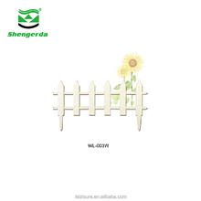 removable decorations flower pot small decorative garden plastic fence for gardens