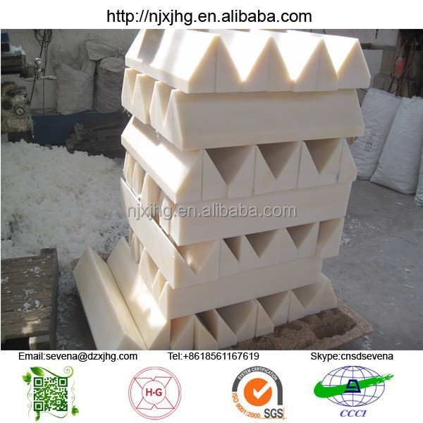 UHMW-PE polyethylene wear block supplier