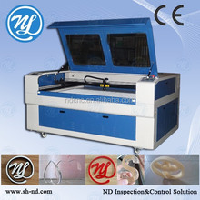 embroidery applique laser cutting machine 1610-2 double head laser machine for processing nonmetal