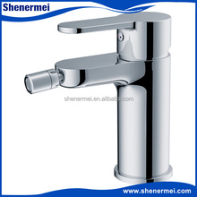 Brass body,zinc handle faucet european bathroom bidet faucet