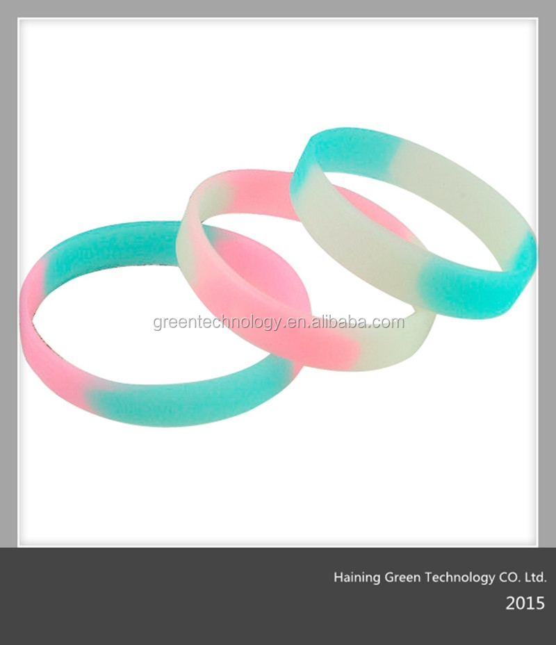 silicone wristbands/bracelets for promotional gift