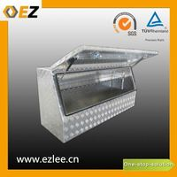 Upright aluminium tool box