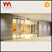 Customized best qaulity sensor operated automatic Induction sliding door