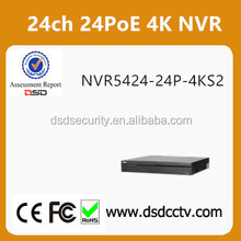 2017 new released Dahua 4K 24PoE NVR NVR5424-24P-4KS2