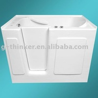 "walk in bathtub soaking tub 50""x31""x38"" UPC certified"