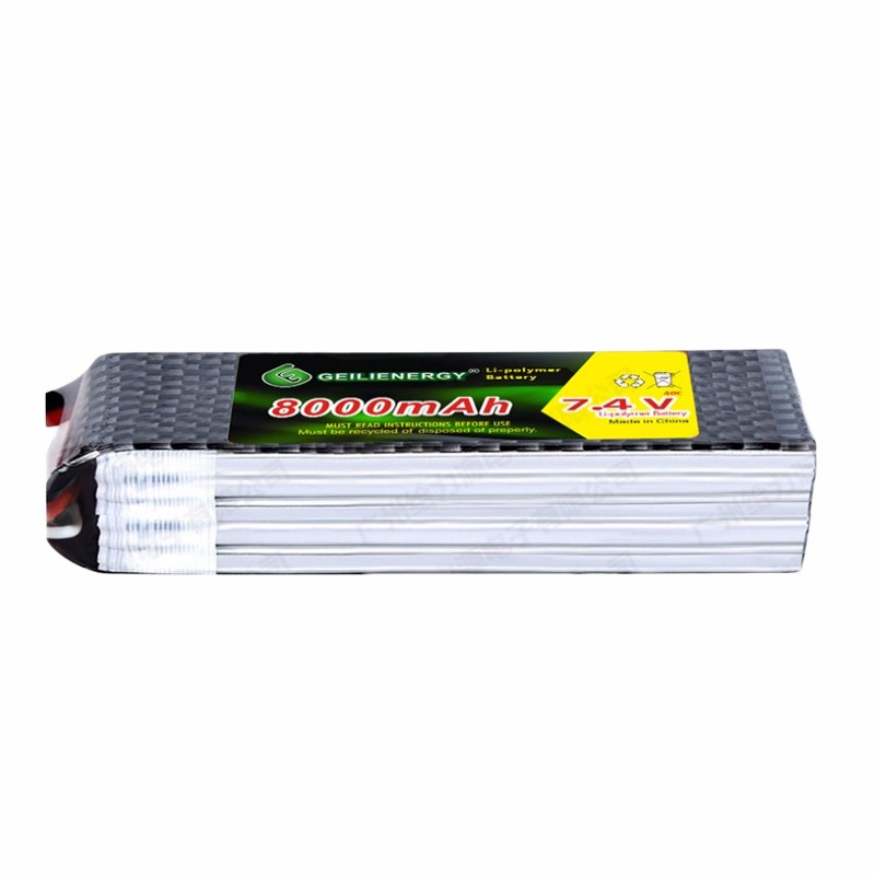 GLE 40C 7.4V 8000mah RC Car RC Model Lithium Polymer Battery