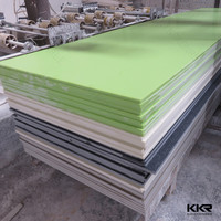 Wholesale glacier white akrilik solid surface wall panels
