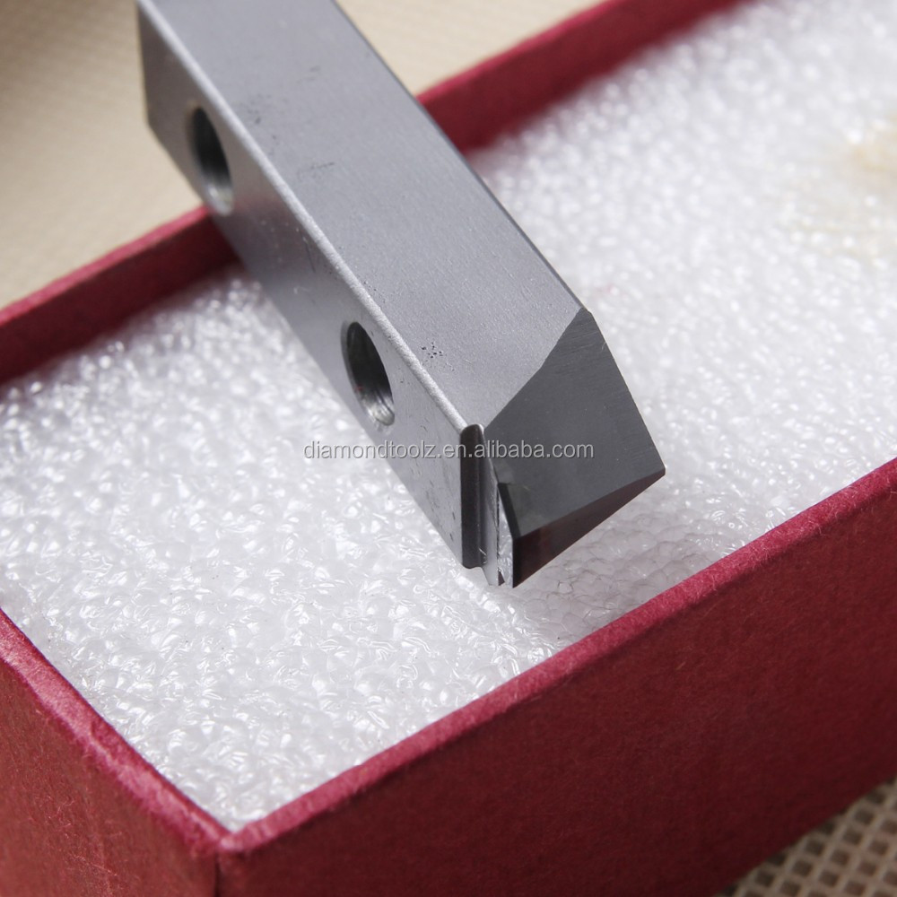 Lathe parting grooving inserts pcd diamond tool