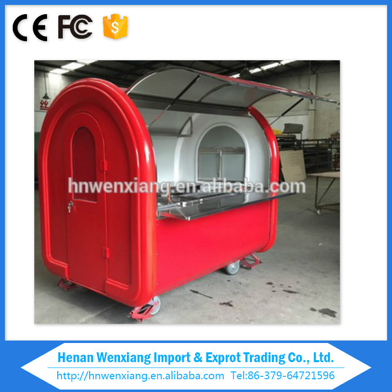 mini food truck, mobile food trailer,mobile buffet car