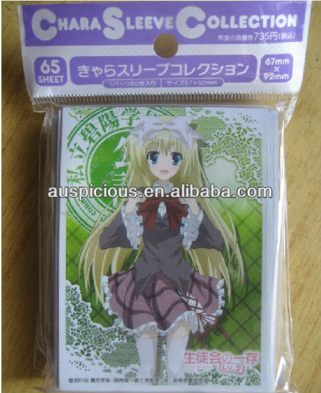 Comics card pp game anime card sleeve card bag