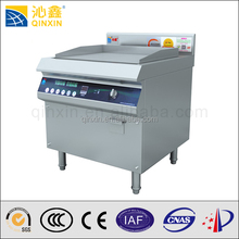 Commercial Electric griddle flat plate/induction stainless steel electric range griddle