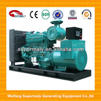 CE approved 50/60 HZ with 3 p 4 w diesel generator 800 kva with factory and suto start system