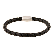 Braided Leather Bracelet, Men's Leather Jewelry, Jewelry for Him Mens Leather Bracelet