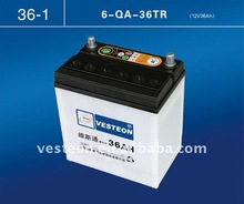 Vesteon Cheaper Dry car battery 12V36Ah