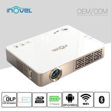 2017 Newest Pico led projector 400 Ansi lumens pocket projector/mini projector/1080P projector