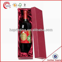 Professional china supplier custom Sigle bottle Wine Box