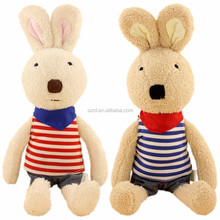Bunny rabbits stuffed plush animals/lovely plush toy for kids/plush soft toy manufacturers