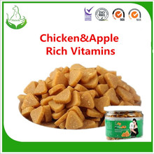 Best Selling chicken & apple granule pet food for dogs