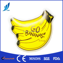 banana mini soft hot cold pack gel ice pack for hand