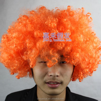 2015 Wholesale factory price None Lace Wig cheap 100% polyester fiber afro wig for south africa