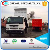 10 wheeler 6*4 type 20 ton loading 15cbm capcity used nissan tipper