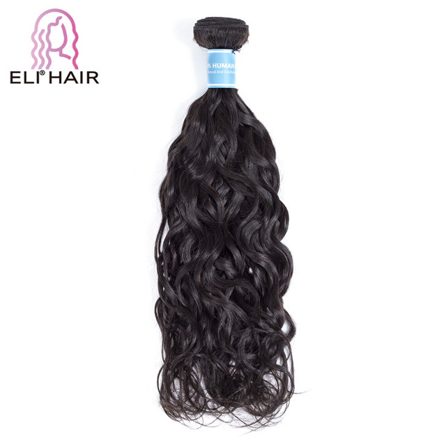 ELI 10A Mink Peruvian Virgin Hair Bundle Water Wave