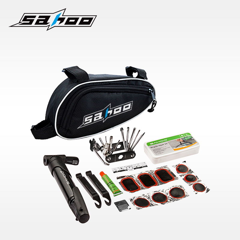Sahoo Bike Accessories and OEM Accepted Portable Bicycle Tire Repair Kit