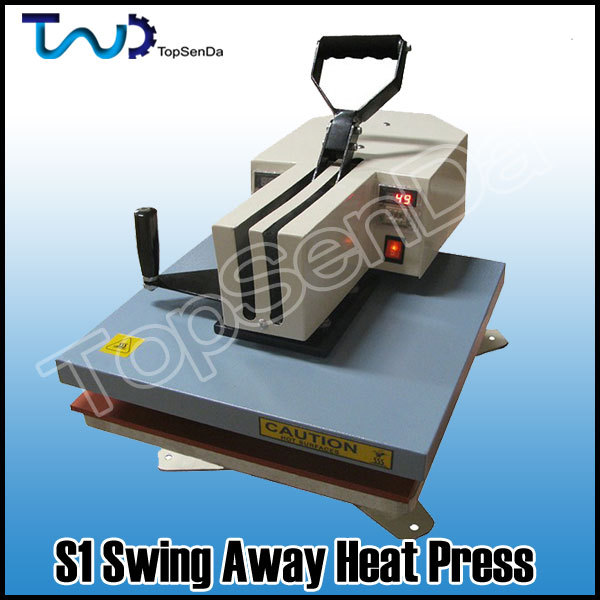 360 swing away cheap used t shirt heat press machine