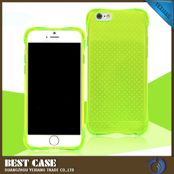 candy color tpu shockproof case for huawei honor 4x mobile phone cover