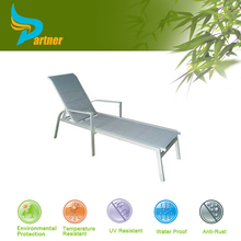PTN-E-103 Anhui Partner PE Rattan Folding Beach Lounge Chair Outdoor Swing Lounge