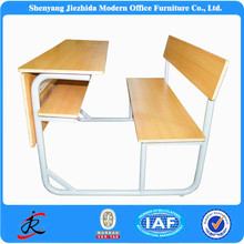 cheap junior middle kids wood used old school desks chairs combined elementary