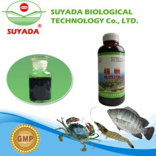 china supplier red brown liquid formula medicine used for aquaculture water