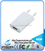 Mobile Phone Accessories 5V, 1A EU Plug USB Charger, Single Port Home Charger Adapter /Wall Charger For Mobile Phone