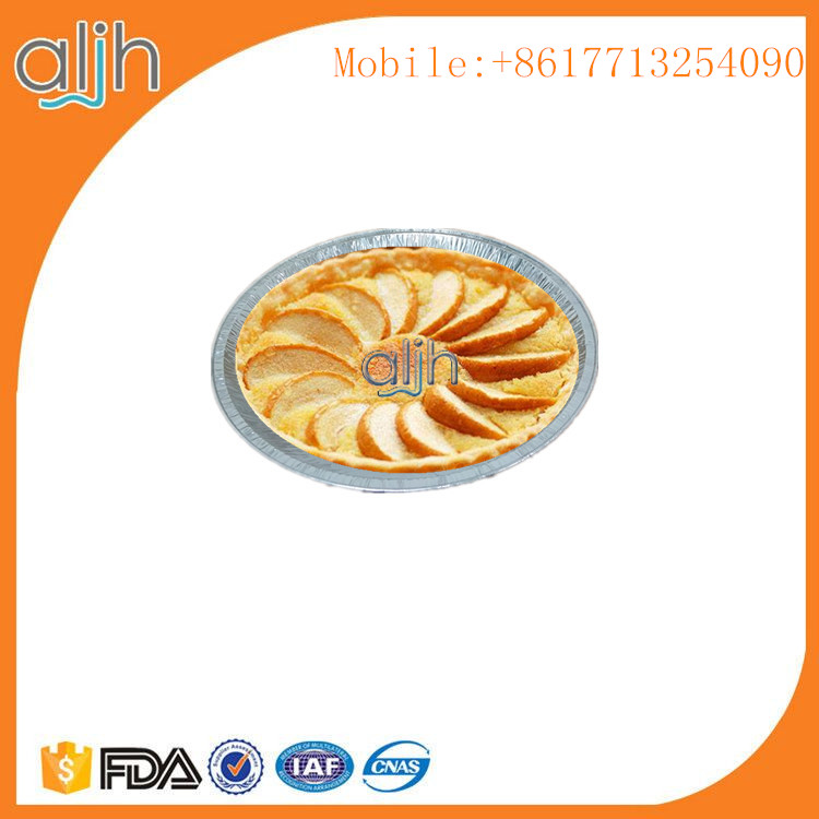 RO610 Ovenable 9 inch aluminum foil disposable container round pie pan