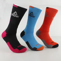 PEAK Brand Men Basketball Socks Fashion Sport Socks 5 Colors W14907 Free Shipping