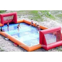 inflatable water sports games,inflatable water soccer field