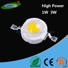 Over 20 Years Experience Ultra Bright High Quality Warm White Pure White Cool white High Power 1W 3W SMD LED Chip Light