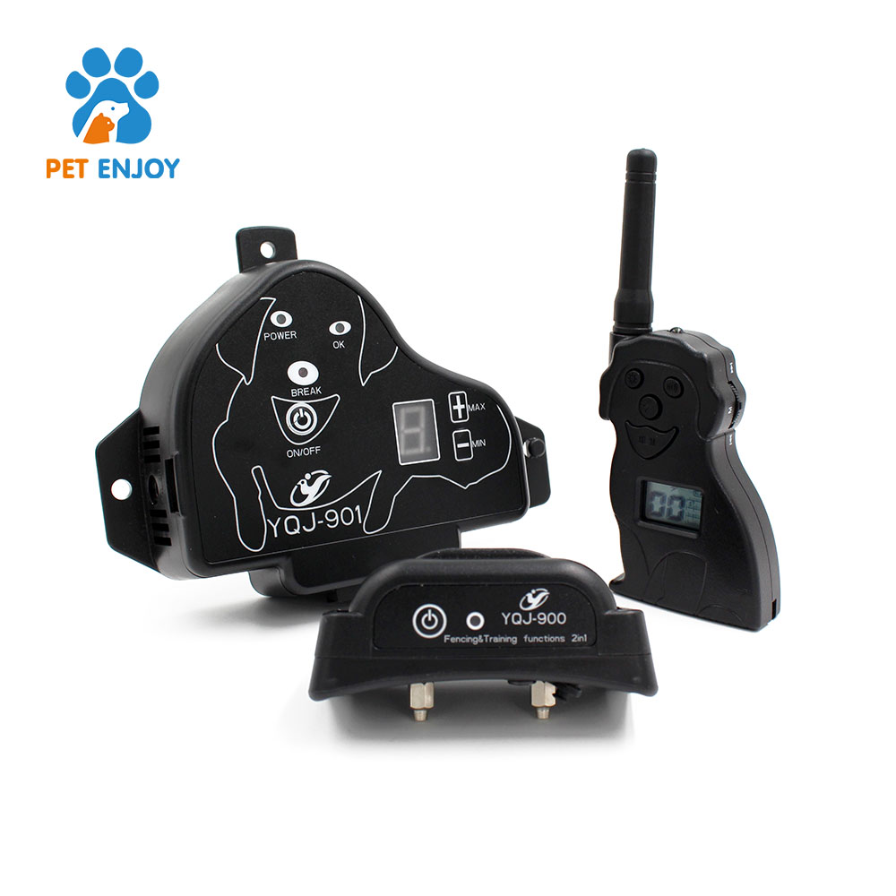 Pet Electronic Wireless Remote Control Training 2 Dogs Fence System professional pet supplier