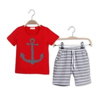 Boutique Kid Suit Summer High Quality Children Clothing Sets