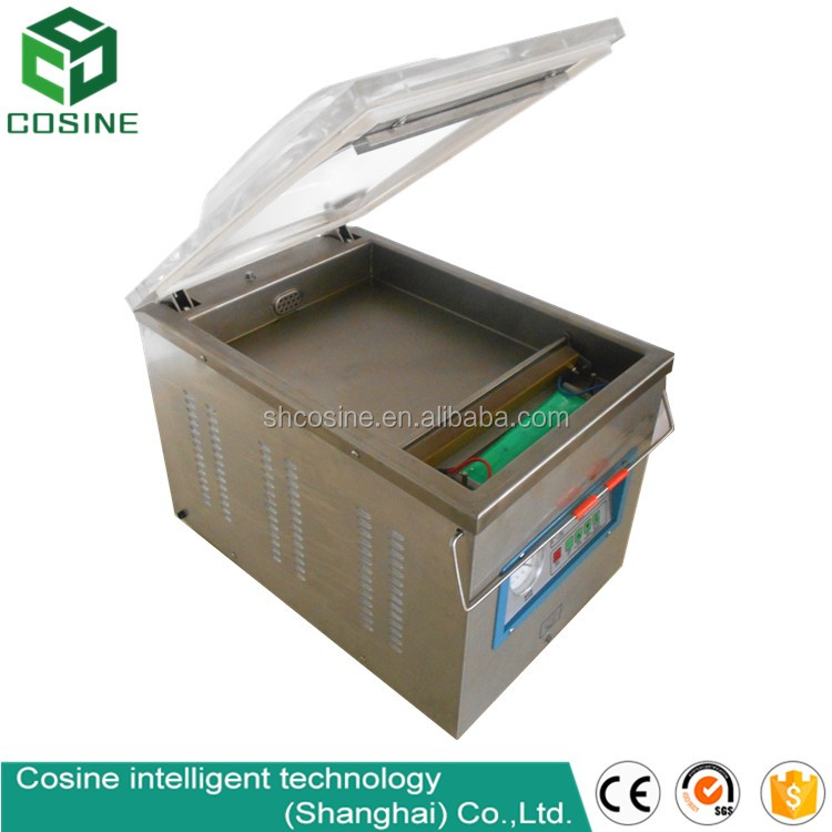 large vacuum packaging machinery cooked food