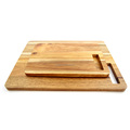 Solid Wood acacia wood simple cutting board set